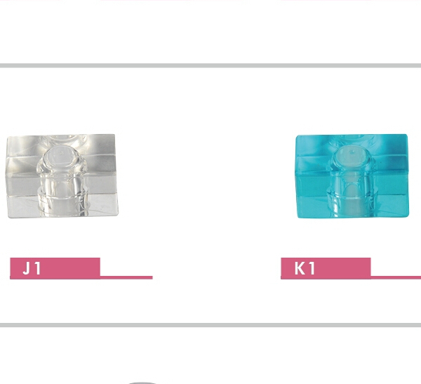 Factory wholesale beautiful plastic crystal perfume bottle lid and perfume bottle cap