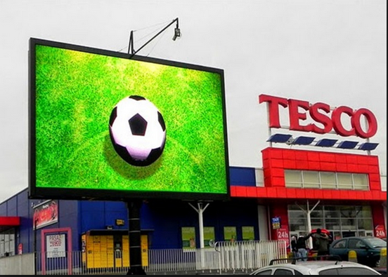DIP full color led display p10 p8 p6/led video wall panel for commercial advertising outdoor