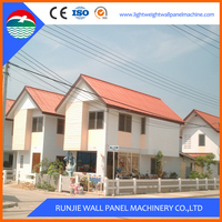 2016 Standard Modular Luxury Prefabricated Steel Frame Houses/Villa/Homes