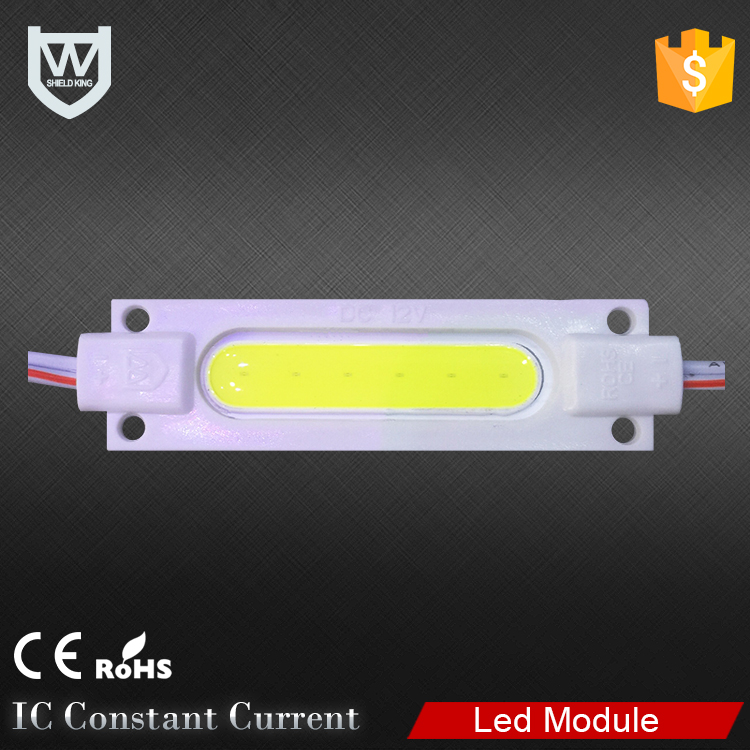 high power cob led module CE &ROHS RGB injection led module china for led sign