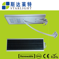 factory direct supply safe reliable motion sensor led solar street light