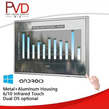 "65"" OPS PC Multi Touch digital smart board Interactive Display Solutions for classroom"
