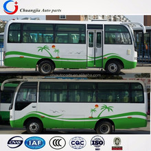 New Design Colour Middle Size 24-28seats coaster bus Used in Africa