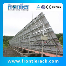 Durable Extruded aluminum 10 kw home solar panel mounting system
