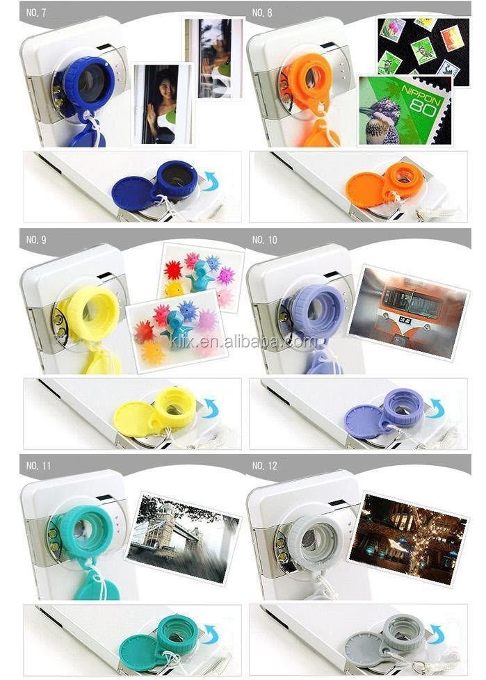 Six Image Mirage Effect Jelly for Cell Phone Digital Camera