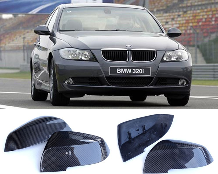 Carbon fiber car mirror cover for BMW body kits