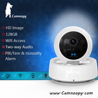 2016 Popular product!Camnoopy smart home support two way chat 360 degrees Pan&Tilt Wireless ip camera
