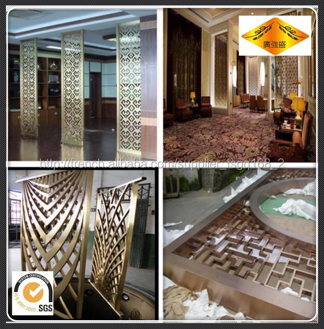 Panneau de cloison porte d corative chambre diviseur for Porte decorative