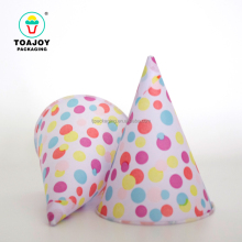 High quality colorful printed ice cream cone shaped paper holder, paper cone cup