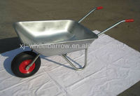 chinese wheel barrow manufacturer/ lightweight galvanized wheel barrel