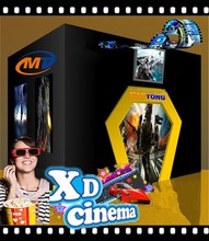 Hot sale Mantong 5D cinema with charming cabin Factory price 5D mould house theater in China