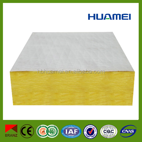 alibaba website sandwich panel wall/fire rated sandwich panel,glass wool sandwich panel