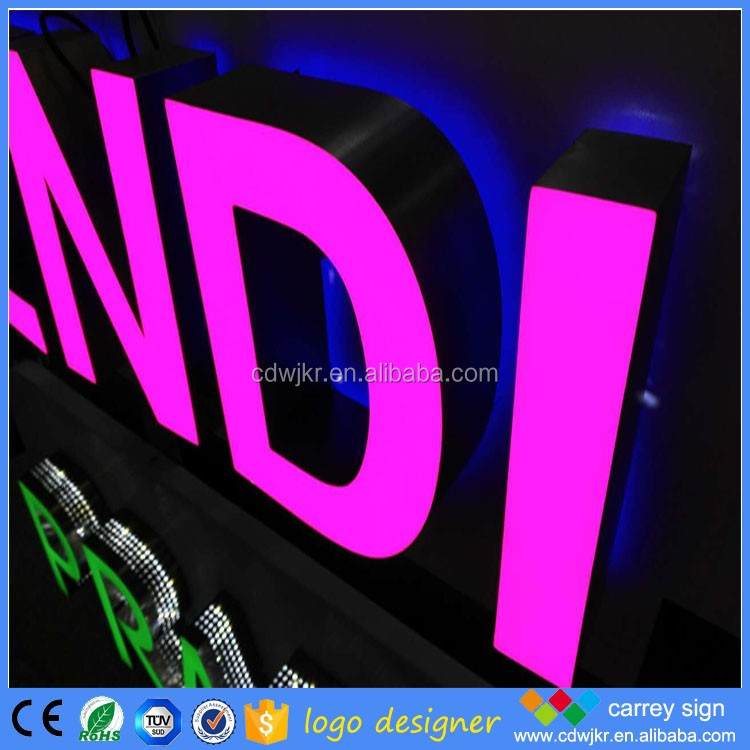 New design signboard samples outdoor led sign board