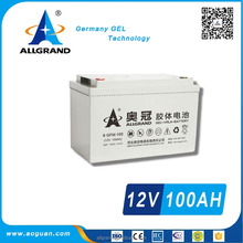 12V100Ah maintenance free deep cycle battery for solar and ups