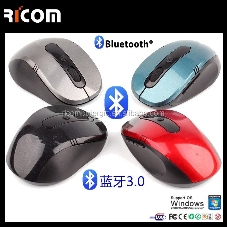 1600 cpi bluetooth wireless optical mouse, bluetooth mouse,bluetooth mouse for Ipad--BM6002--Shenzhen Ricom