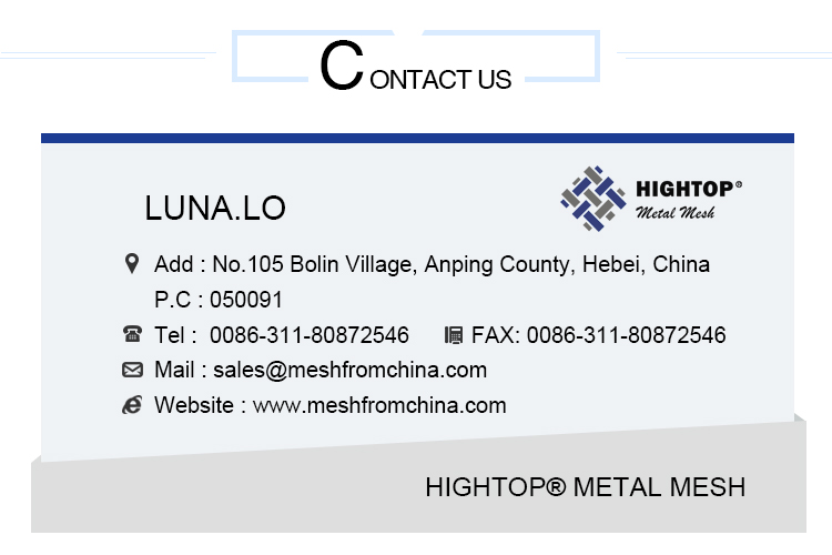 High Quality 400 Mesh Phosphor Bronze Wire Mesh