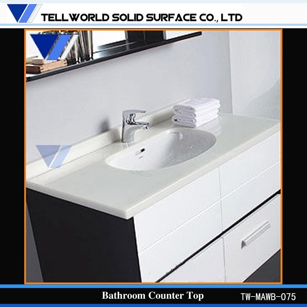 Corian Bathroom Vanity corian vanity tos,white solid surface counter,corian bathroom
