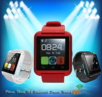 Best selling products u8 smart watch popular man watch u8 silicon sport watch