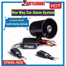 Universal Car Alarm System with Flip Key Remote Control Central Door Locking Keyless Entry Anti Theft Car Alarm