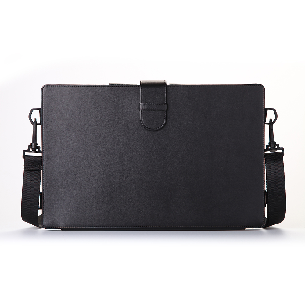 Gunuine leather tablet sleeve/case with tablet stand holder