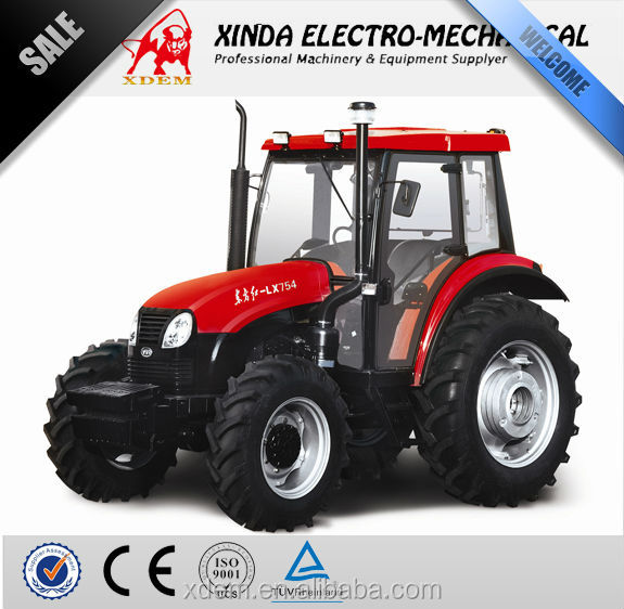 YTO 4WD X754 75 hp Tractor Price of Agricultural Tractor