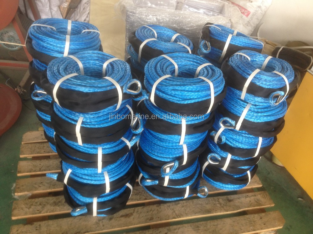 Mooring rope Synthetic UHMWPE rope dy nema winch Rope for ship use