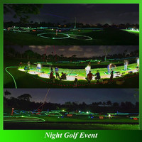 Funny LED Golf Balls for Night Golf Event