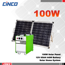 100w mini projects home solar systems solar power bank solar kits home lighting