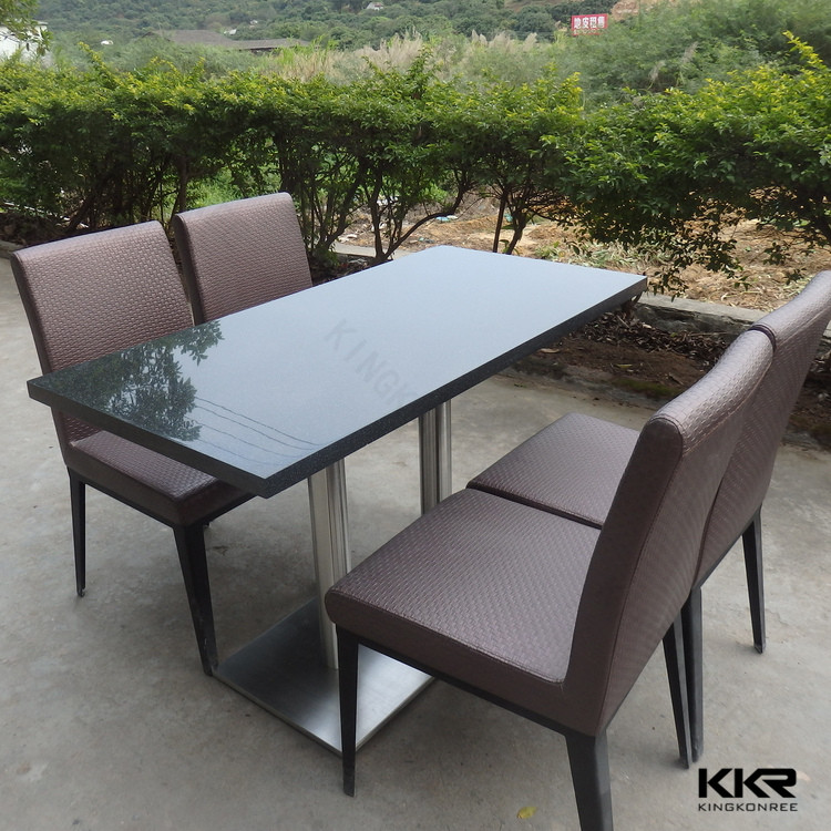 Restaurant Furniture Solid Surface Coffee Table Industrial Style Dining Table Buy Dining Table