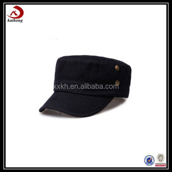fashion military style captain caps hats for men