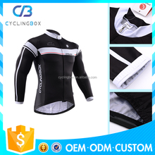 Custom design factory custom logo event promotion bike clothing long sleeve cycling jersey