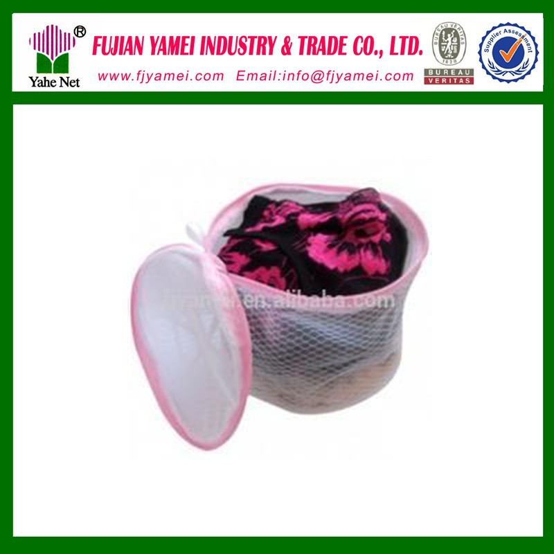 Wholesale Mesh Bra Washing Bag/Cylinder Zipper Laundry Bag