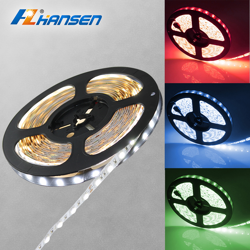 5m/ROLLS DMX rgb IP20 or IP65 floor light led strip lighting