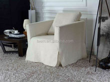 Italian fabric single sofa set for living room pvc synthetic leather for sofa upholstery