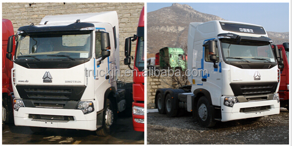 SINOTRUK HOWO A7 Used man tractor truck 6*4