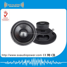Manufacturing Black 12 inch dual subwoofers