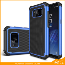 Heavy duty 3 in1 combo Ball Line shockproof phone <strong>case</strong> for S8 Covers
