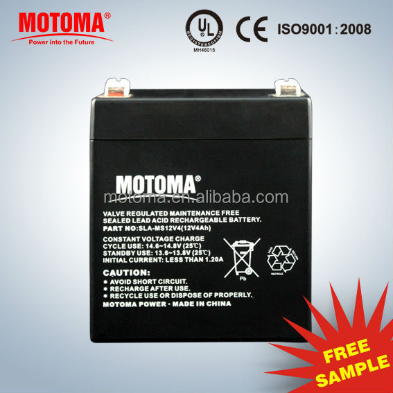 12V4Ah High Quality Rechargeable Lead Acid Battery
