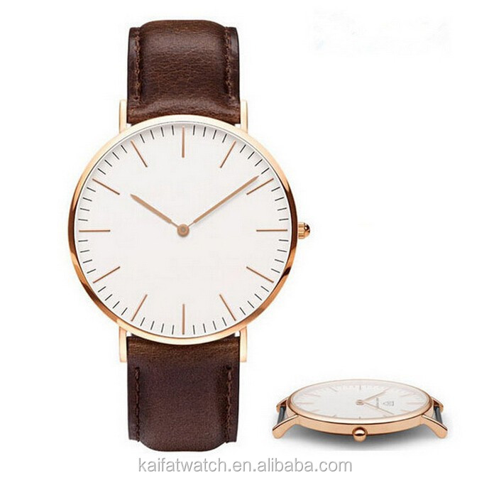 custom brand women and men watch , cheap brand watch design, brand leather watch