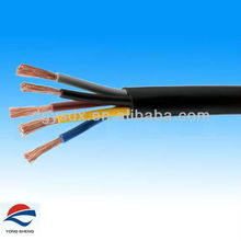 PVC insulated PVC sheath 5core 0.75mm2 cctv power cable