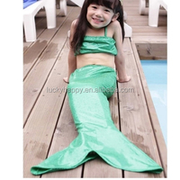 Kid 's swim mermaid tail with monofins in stock