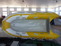 CE Made in China PVC cold welding inflatable rubber boats for sales