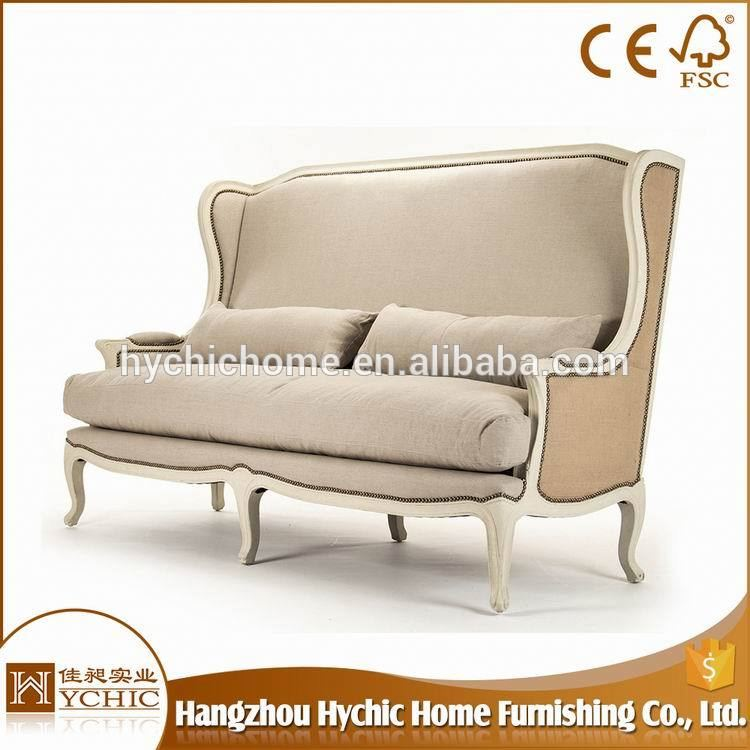 Hot Selling italian event furniture wooden sofa