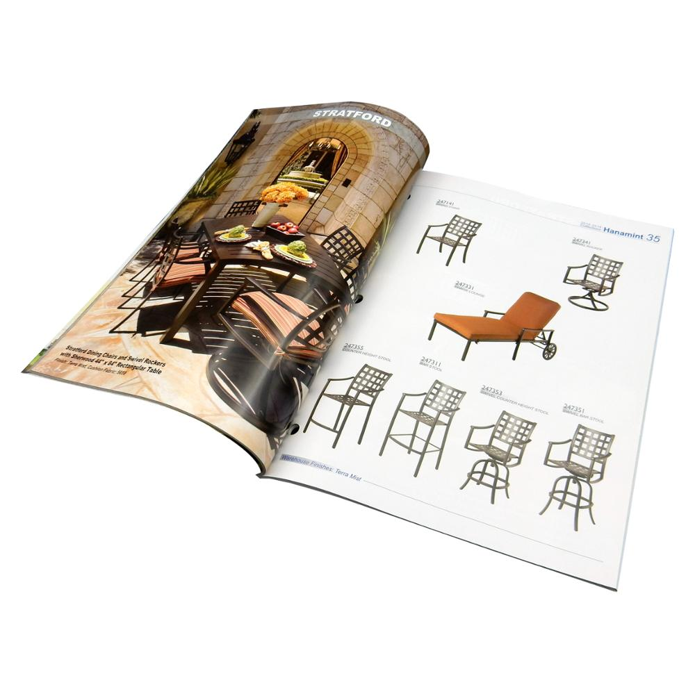 High-end small quantity magazine printing with fast freight