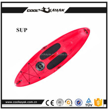 Adjustable 3 pieces plastic sup stand up paddle board