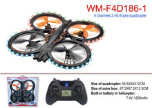WIN-MART WM-F4D186-1 large quadcopter drone night flight outdoor drone