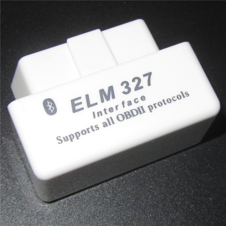 Auto Code Reader Diagnosis V1.5 White ELM327 V1.5 Super 25K80 Chip 12Language Works Multi-Cars ELM 327 OBD2 CAN-BUS Tester