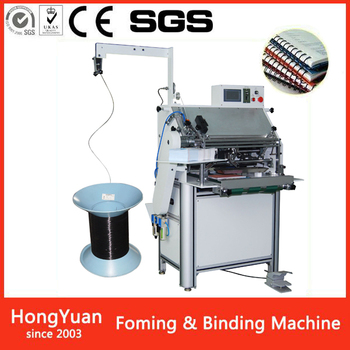 high quality stationery single spiral wire binding and forming machine