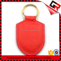 Wholesale blank pouch leather key chain