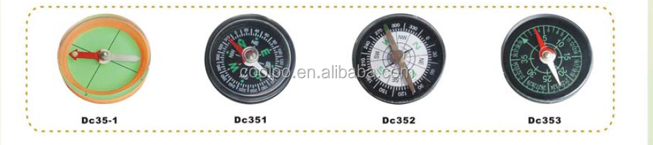 High Quality Plastic Round Mini Compass